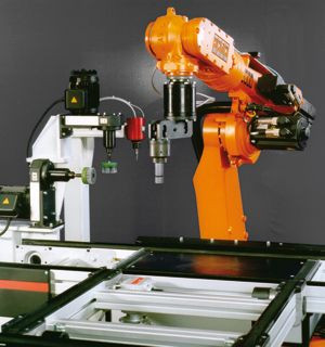 Robot systems for deburring - using tailor-made tools from Kreeb which are adapted to the customer's workpieces